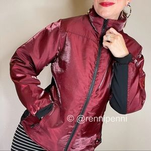 ROOTS ruby shimmer puffer insulated jacket coat M